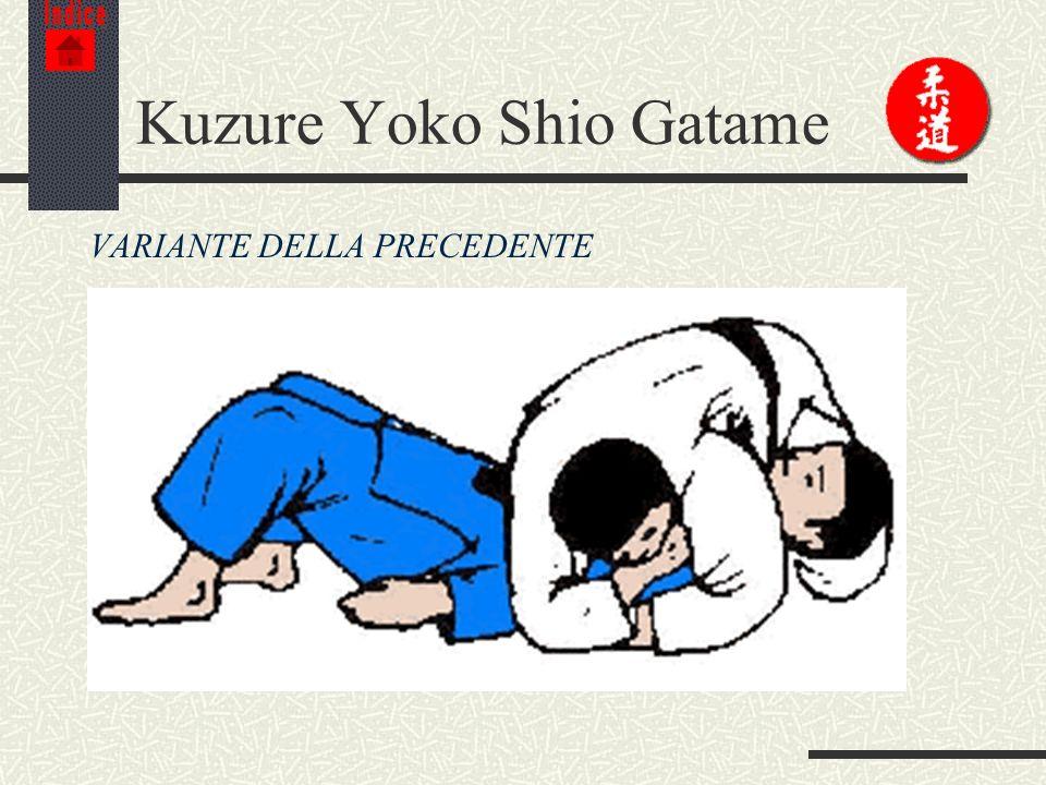 Kuzure Yoko Shio Gatame