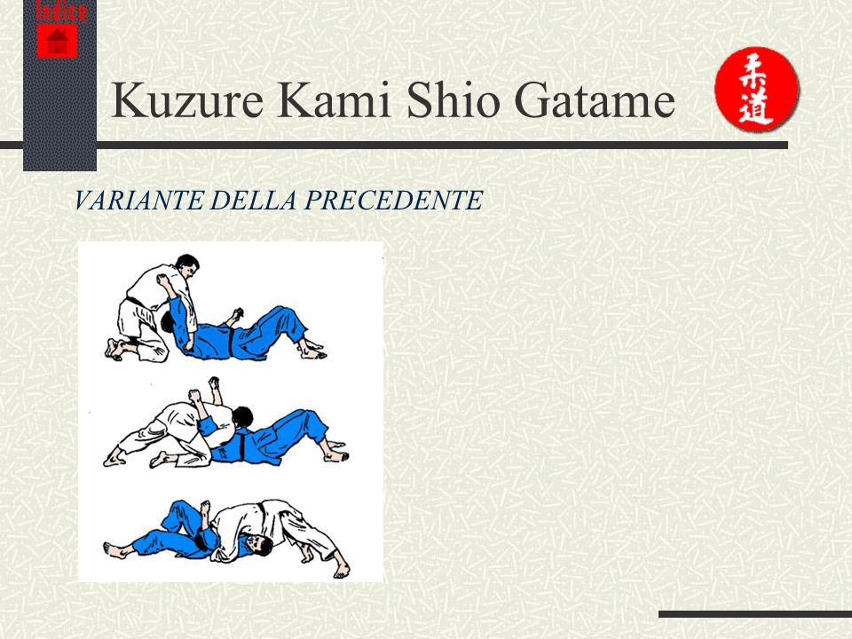 Kuzure Kami Shio Gatame
