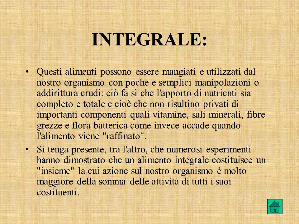 INTEGRALE: