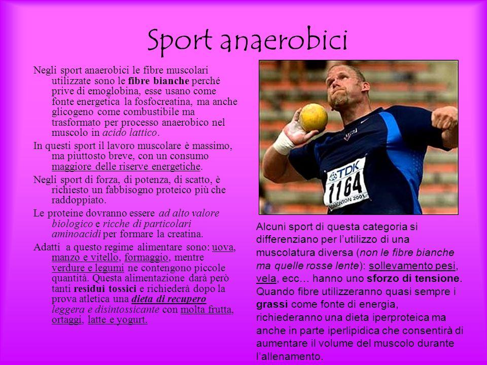 Sport anaerobici