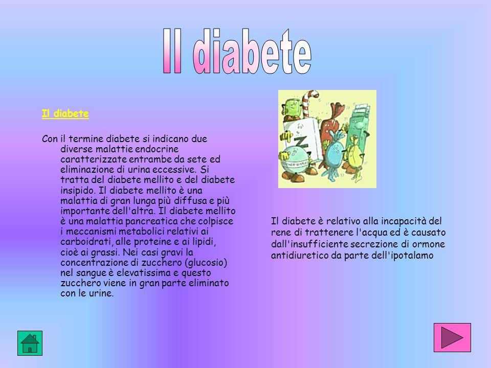 Il diabete Il diabete.