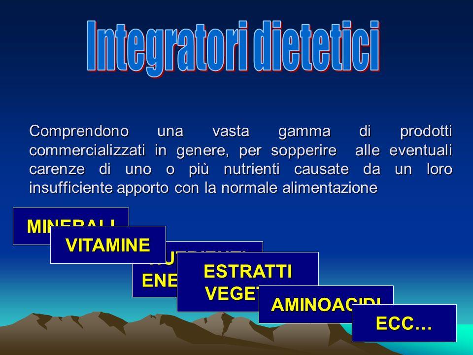 Integratori dietetici
