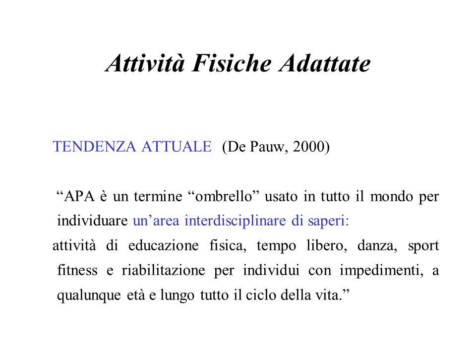 Attività Fisiche Adattate