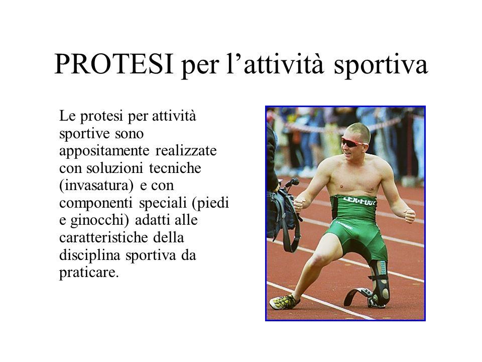 PROTESI per l'attività sportiva