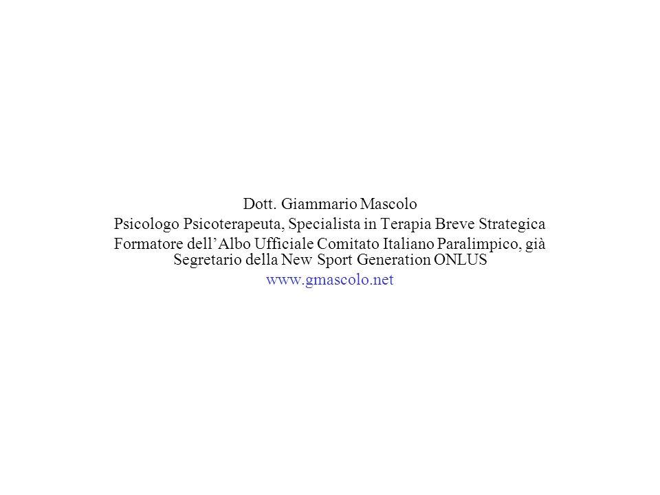 Dott. Giammario Mascolo