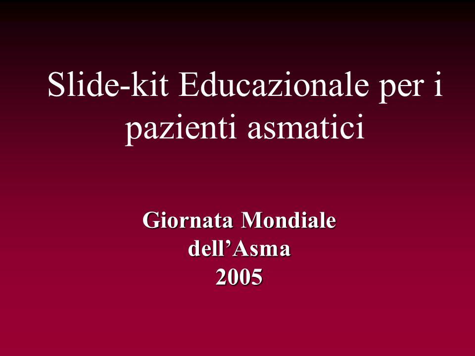 Slide-kit Educazionale per i pazienti asmatici