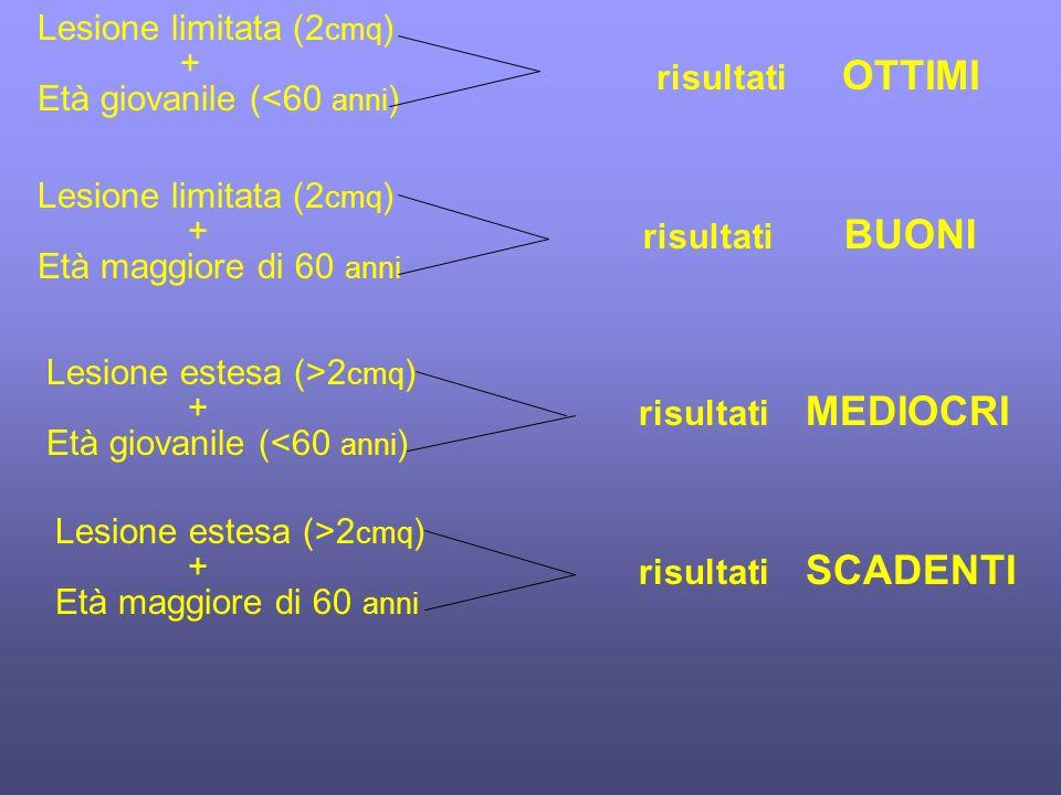 Lesione limitata (2cmq)