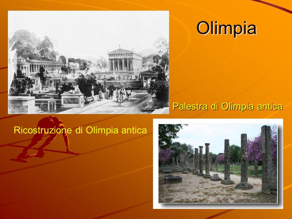 Ricostruzione di Olimpia antica