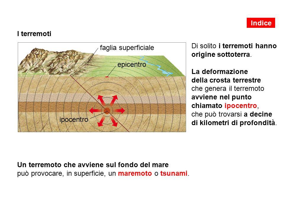Un terremoto che avviene sul fondo del mare