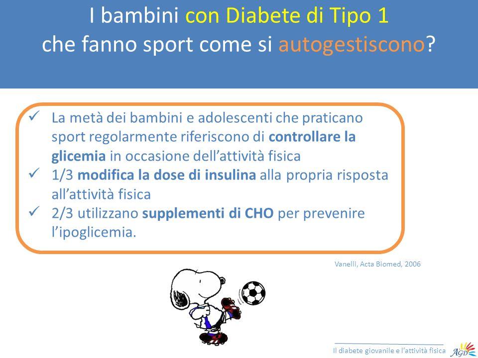 I bambini con Diabete di Tipo 1