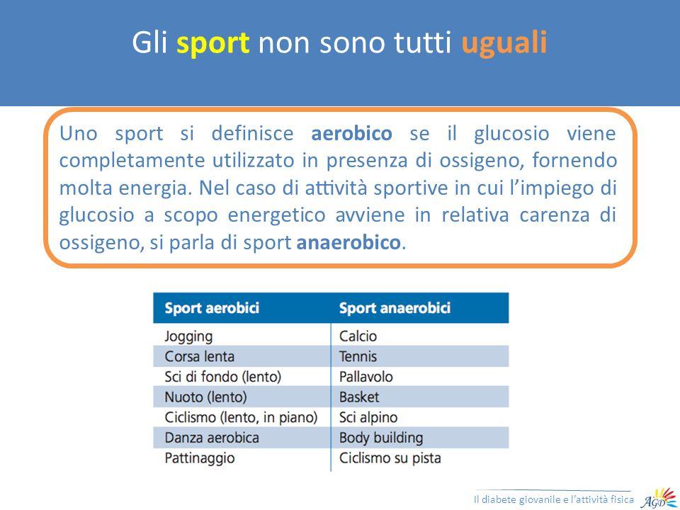 Gli sport non sono tutti uguali