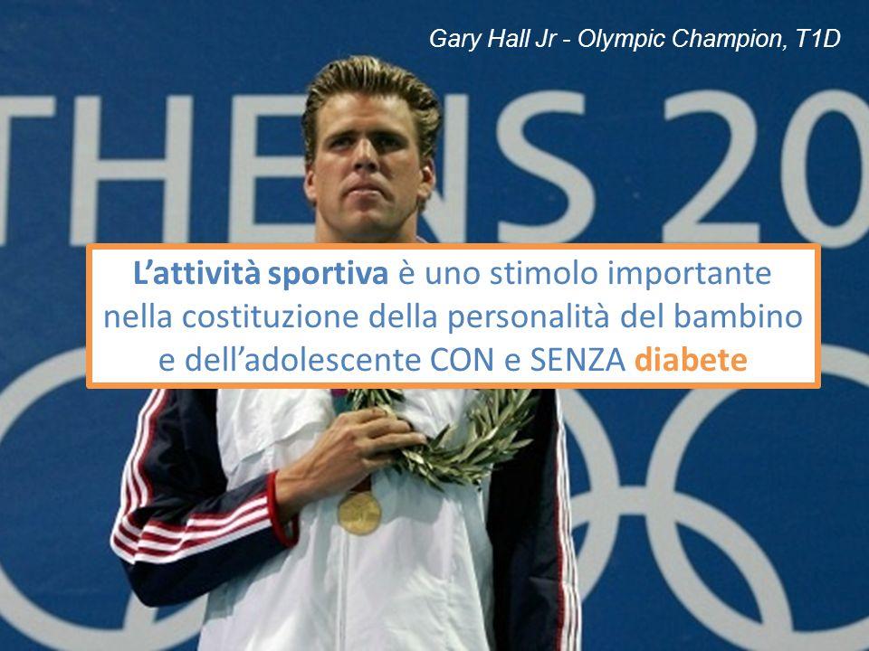 20/10/13 Gary Hall Jr - Olympic Champion, T1D.