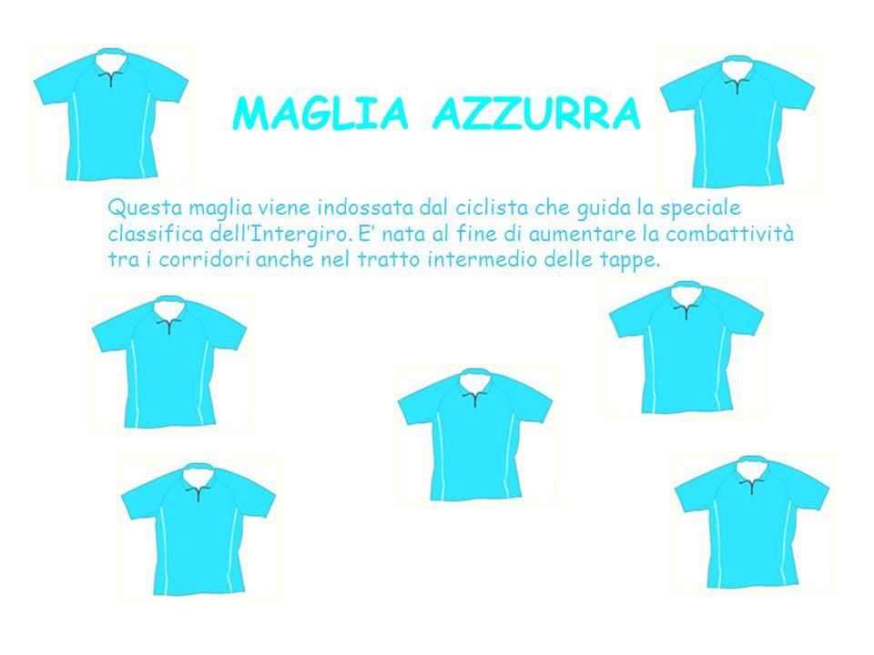 MAGLIA AZZURRA