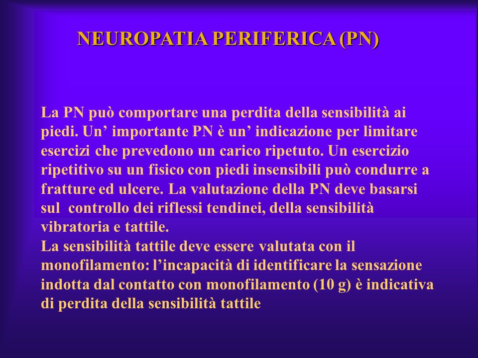 NEUROPATIA PERIFERICA (PN)