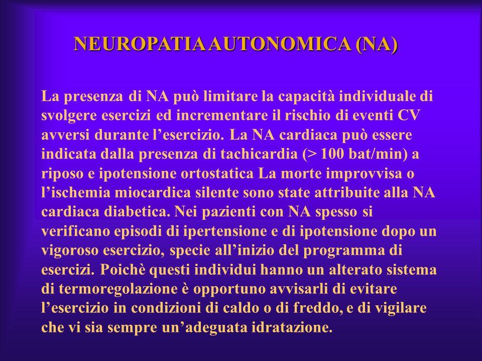 NEUROPATIA AUTONOMICA (NA)