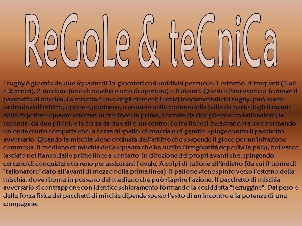 ReGoLe & teCniCa