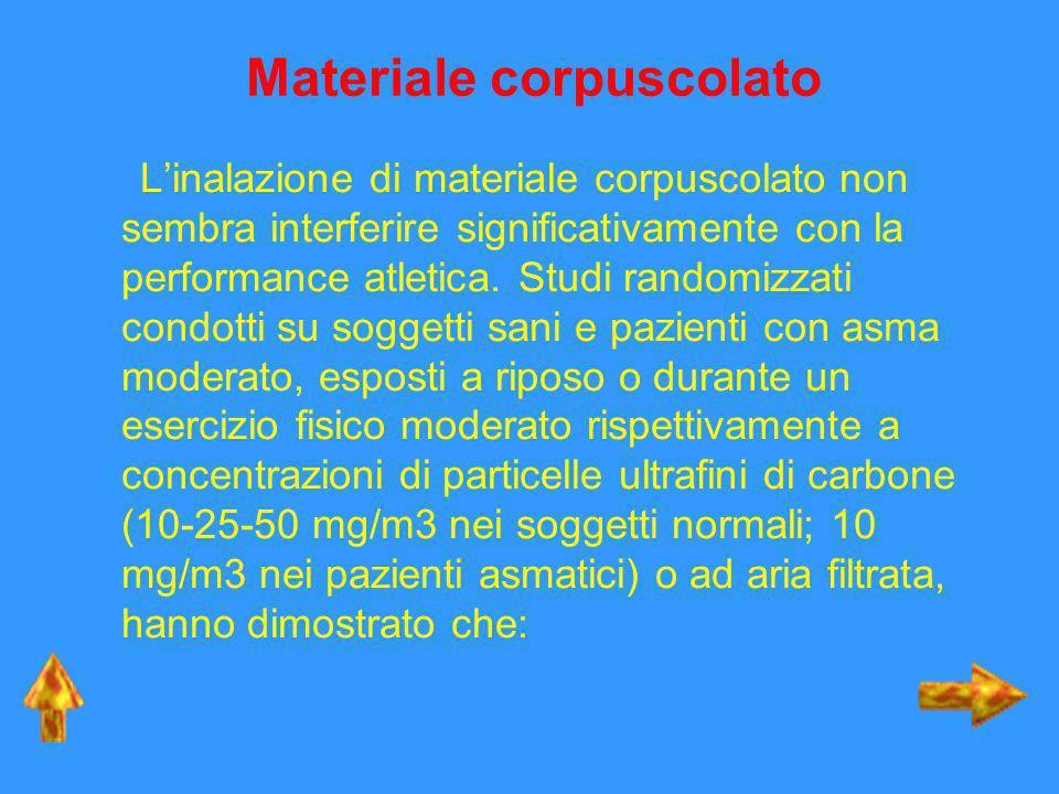 Materiale corpuscolato