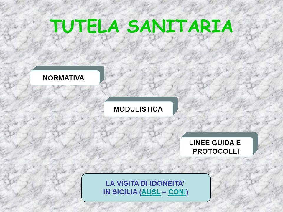 IN SICILIA (AUSL – CONI)