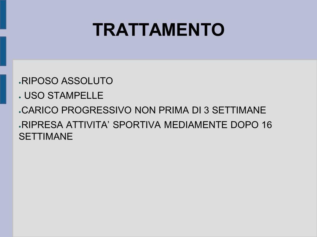 TRATTAMENTO RIPOSO ASSOLUTO USO STAMPELLE