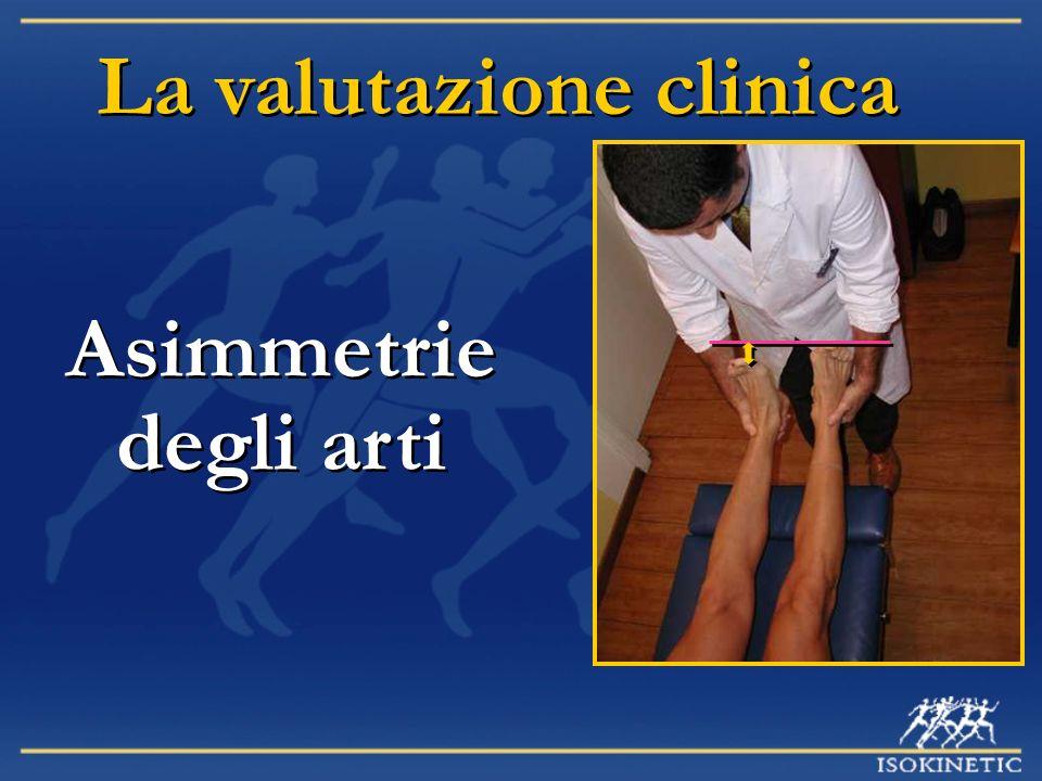 La valutazione clinica