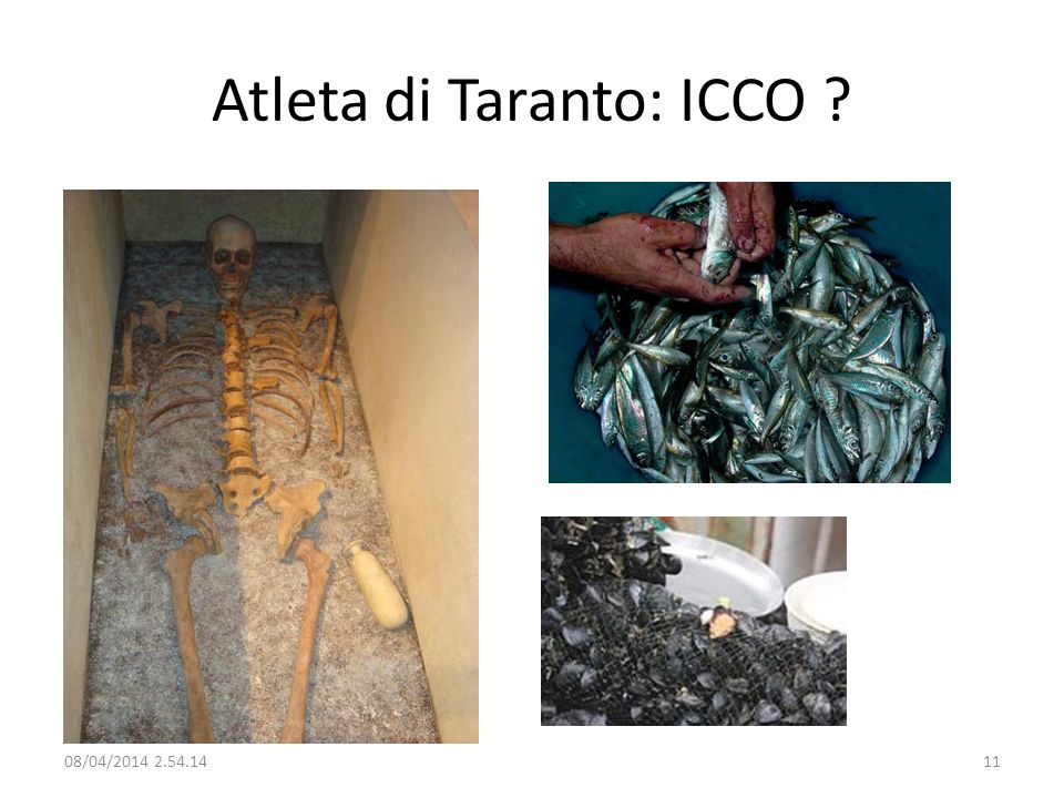 Atleta di Taranto: ICCO