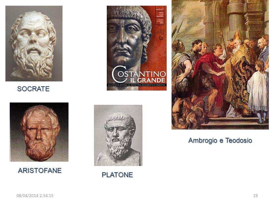 SOCRATE Ambrogio e Teodosio ARISTOFANE PLATONE 29/03/2017 02:28:09