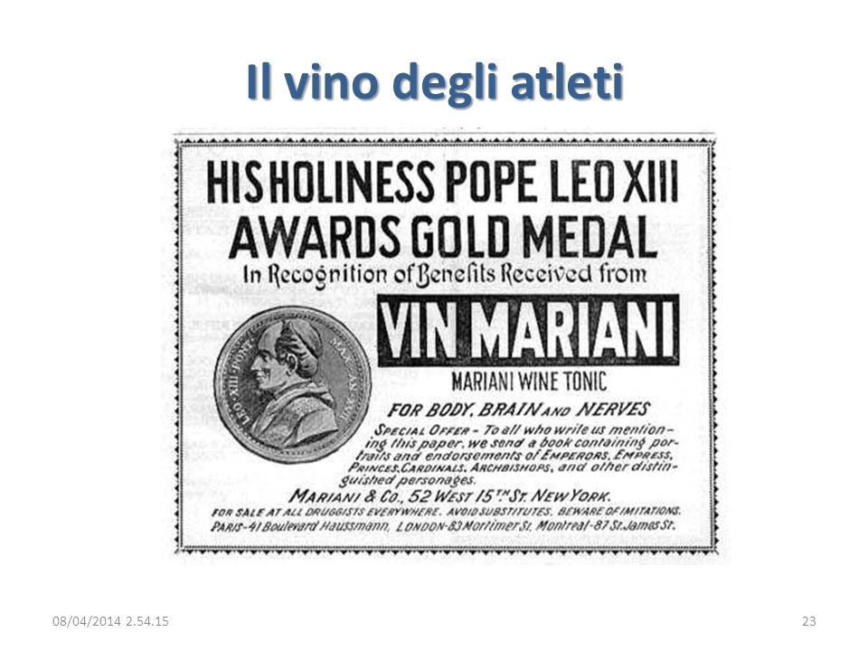 Il vino degli atleti 29/03/2017 02:28:09