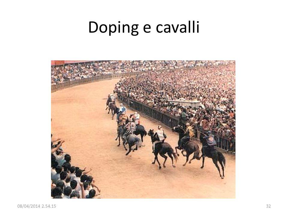 Doping e cavalli 29/03/2017 02:28:09