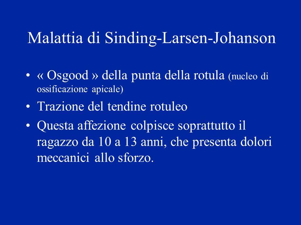 Malattia di Sinding-Larsen-Johanson