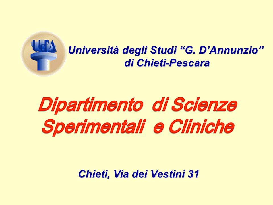 Dipartimento di Scienze Sperimentali e Cliniche