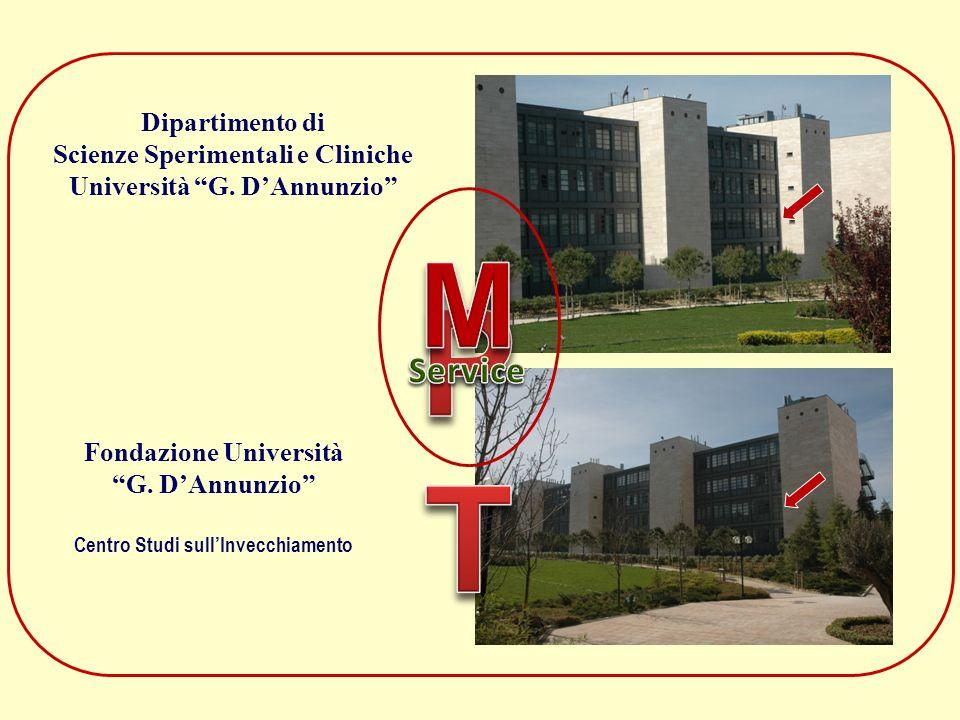 PT M Service Dipartimento di Scienze Sperimentali e Cliniche
