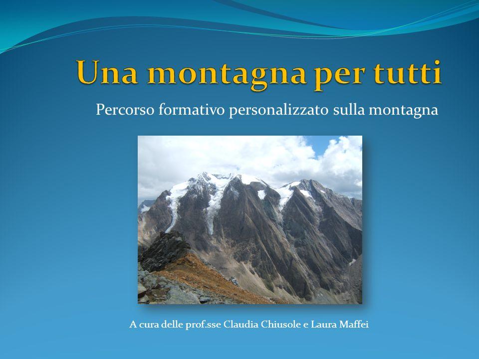 Percorso formativo personalizzato sulla montagna