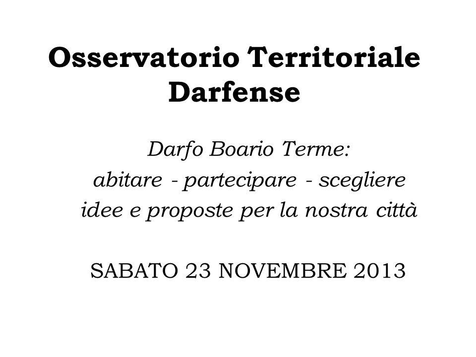 Osservatorio Territoriale Darfense
