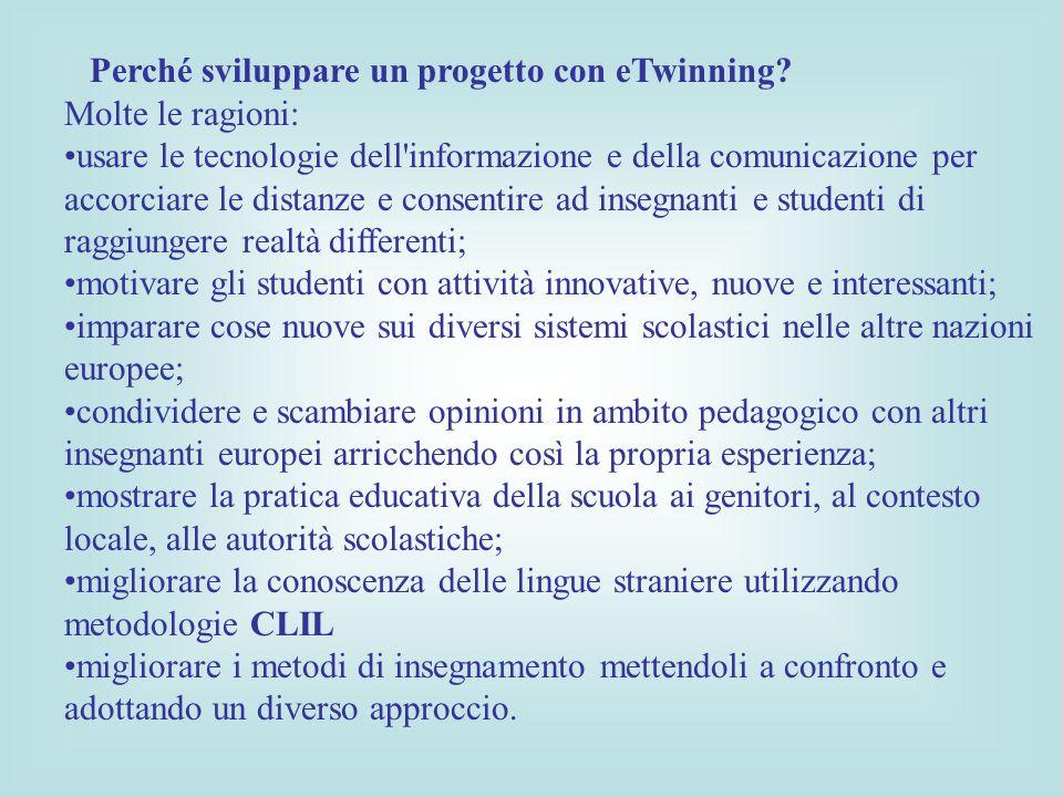 Perché sviluppare un progetto con eTwinning