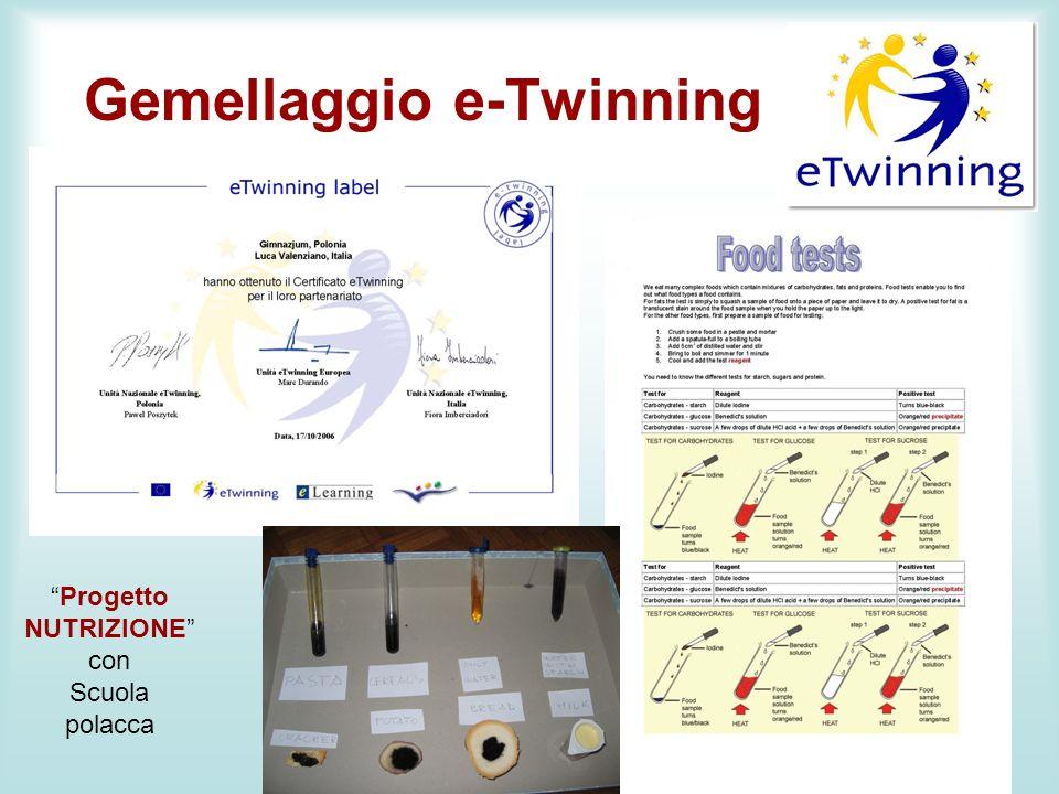 Gemellaggio e-Twinning m