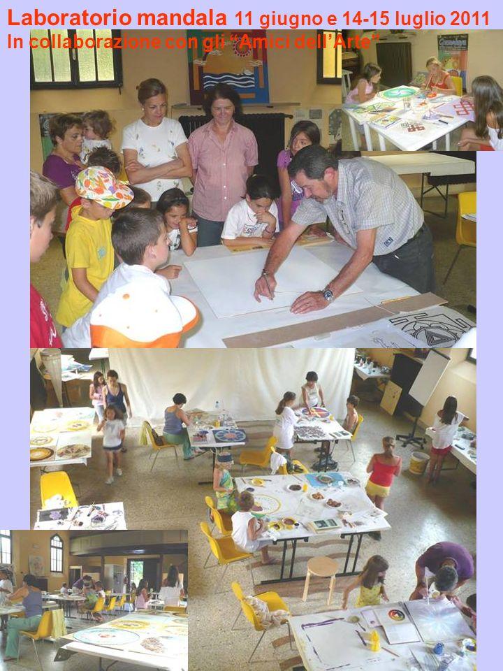 Laboratorio mandala 11 giugno e 14-15 luglio 2011