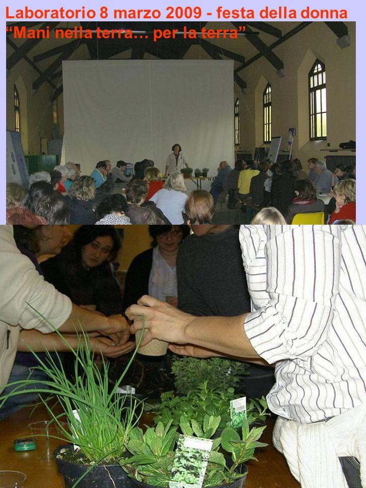 Laboratorio 8 marzo 2009 - festa della donna