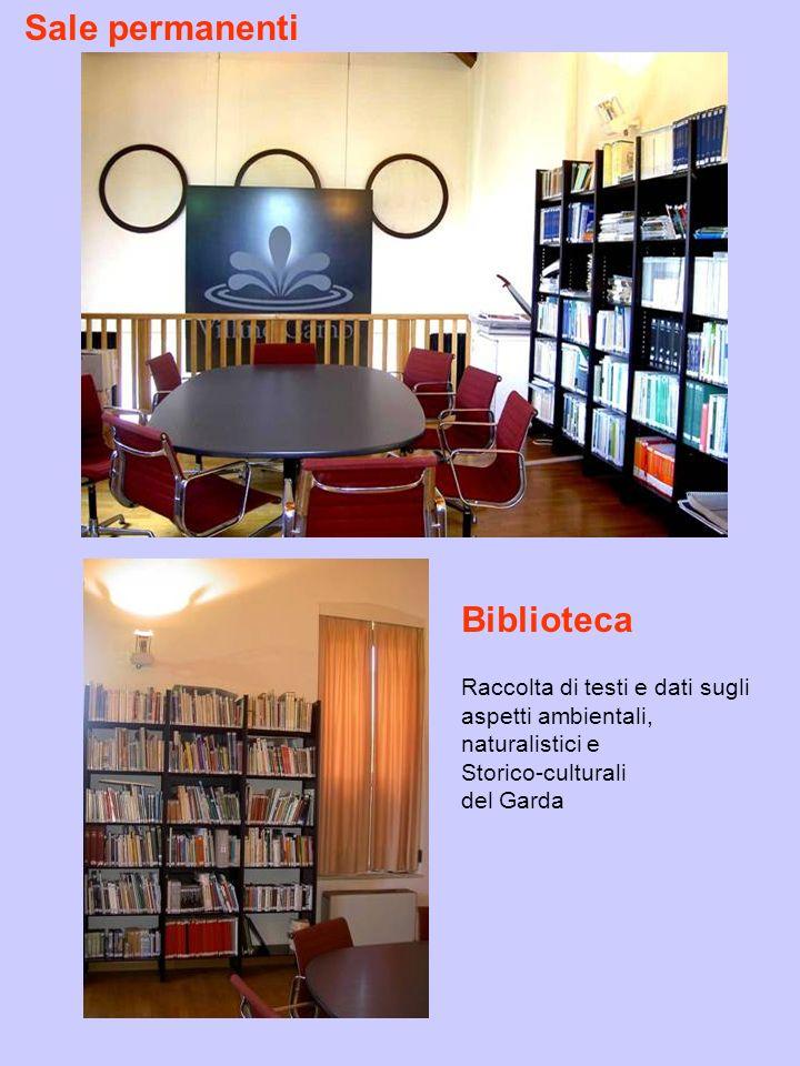 Sale permanenti Biblioteca Raccolta di testi e dati sugli