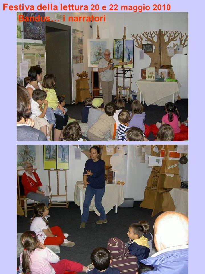 Festiva della lettura 20 e 22 maggio 2010