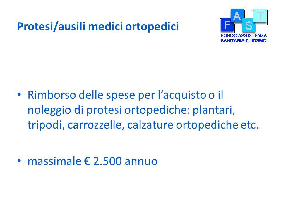 Protesi/ausili medici ortopedici