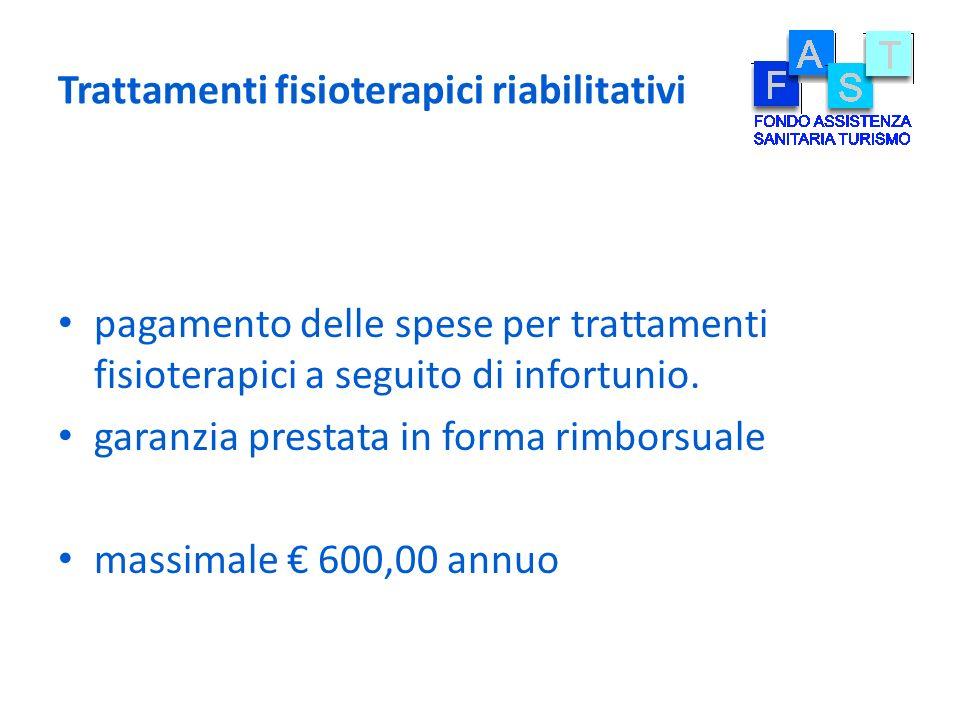 Trattamenti fisioterapici riabilitativi