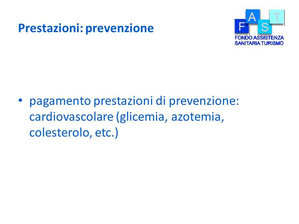 Prestazioni: prevenzione