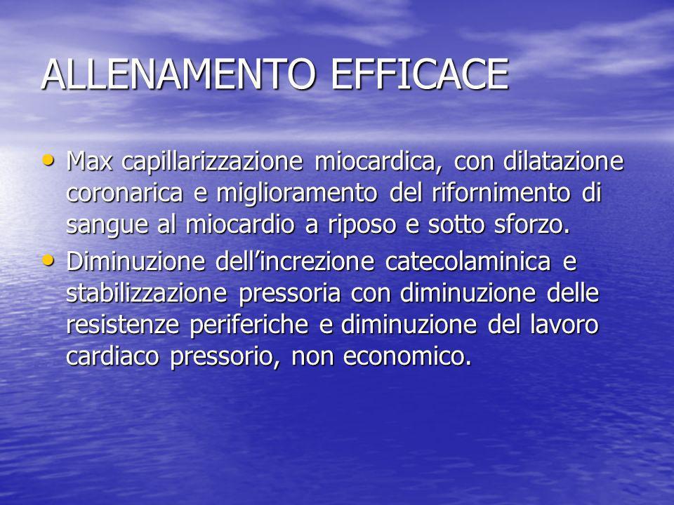 ALLENAMENTO EFFICACE