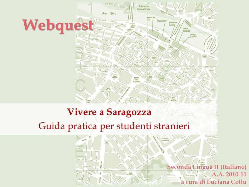 Vivere a Saragozza Guida pratica per studenti stranieri