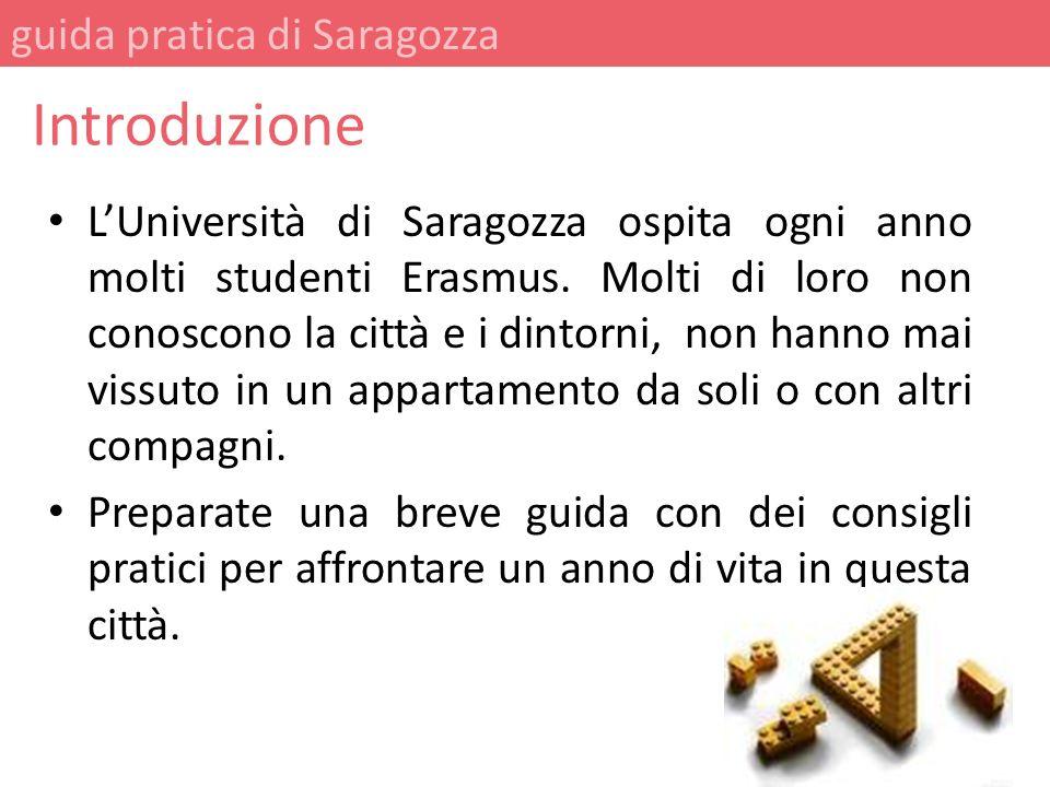 Introduzione guida pratica di Saragozza