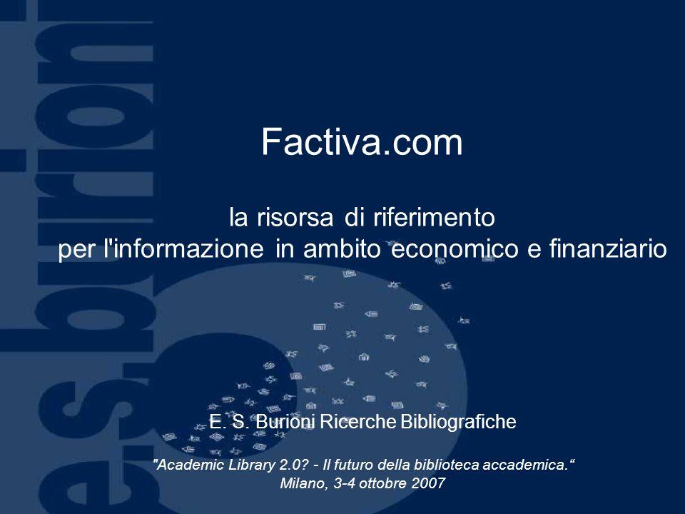 Factiva.com la risorsa di riferimento