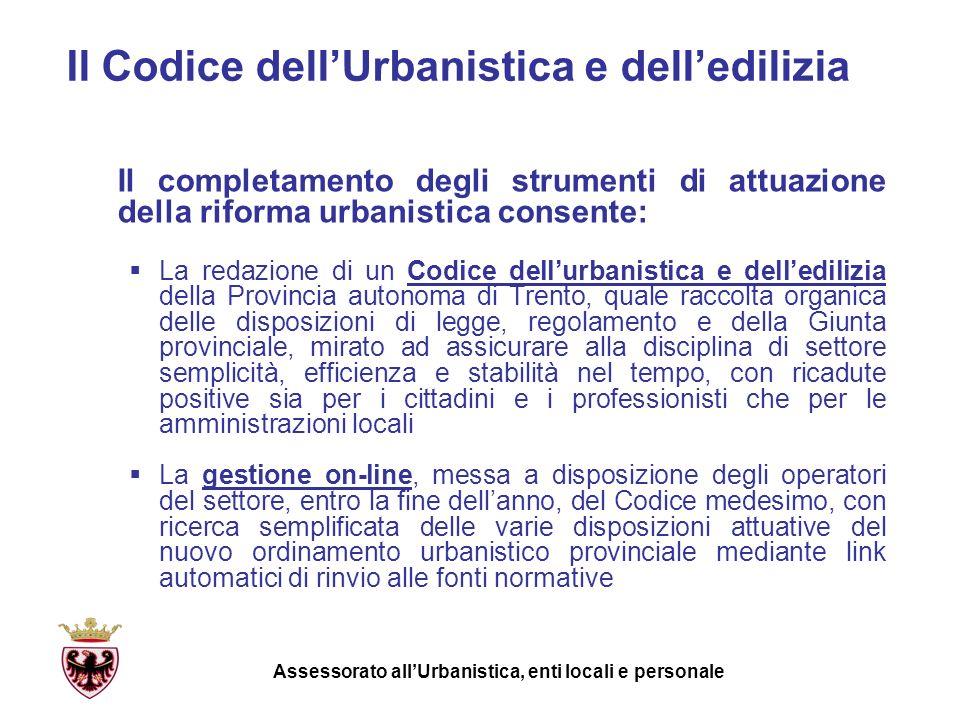 Il Codice dell'Urbanistica e dell'edilizia