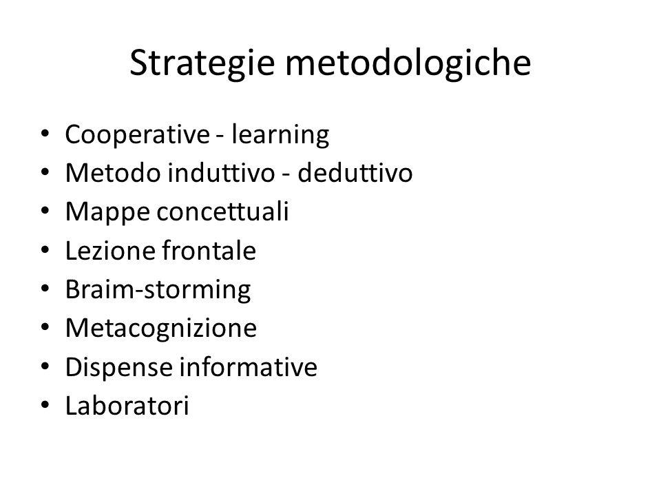Strategie metodologiche