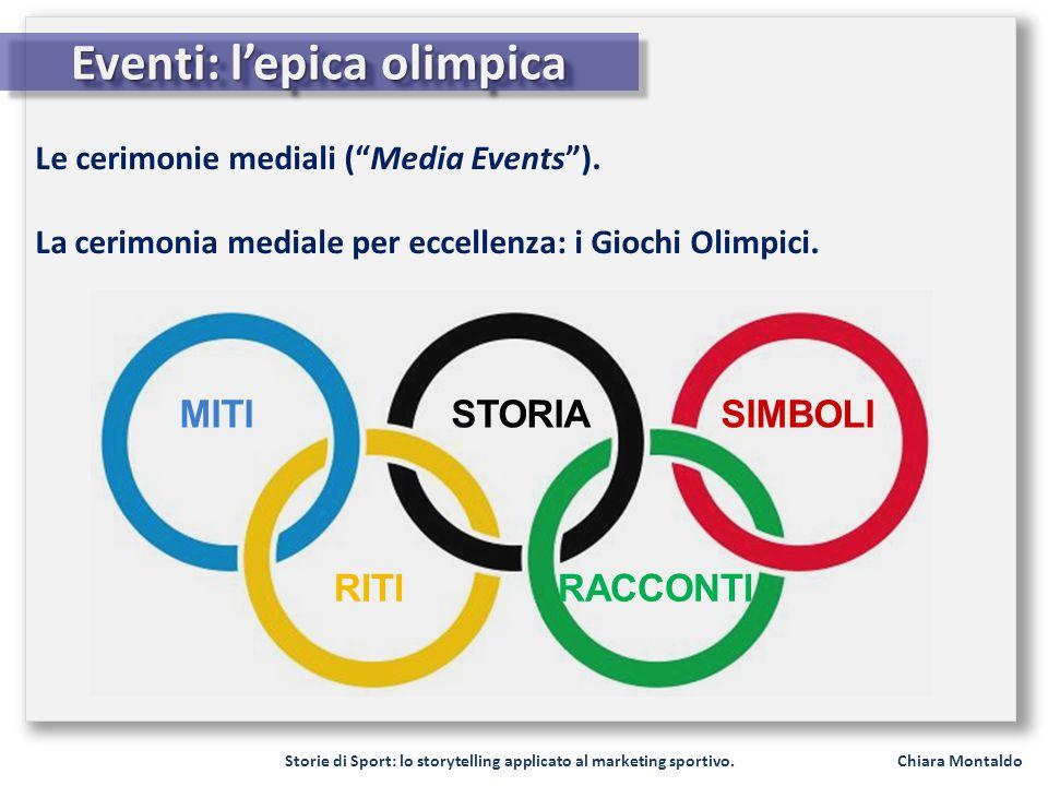 Eventi: l'epica olimpica