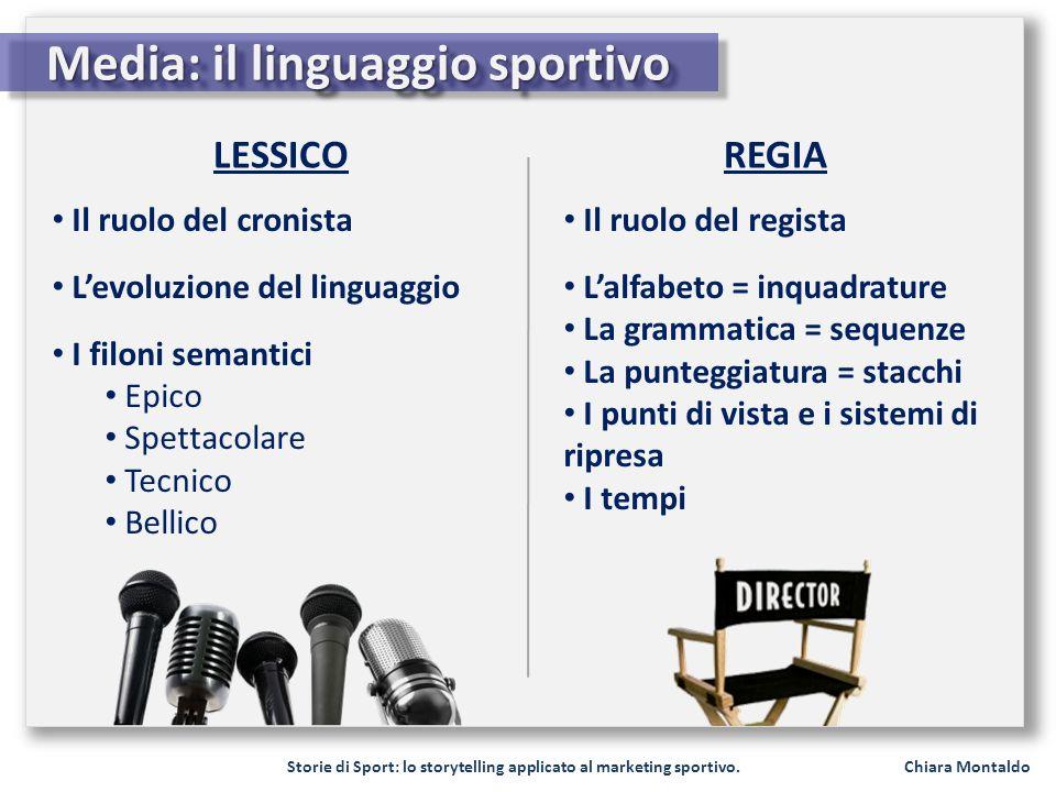 Media: il linguaggio sportivo